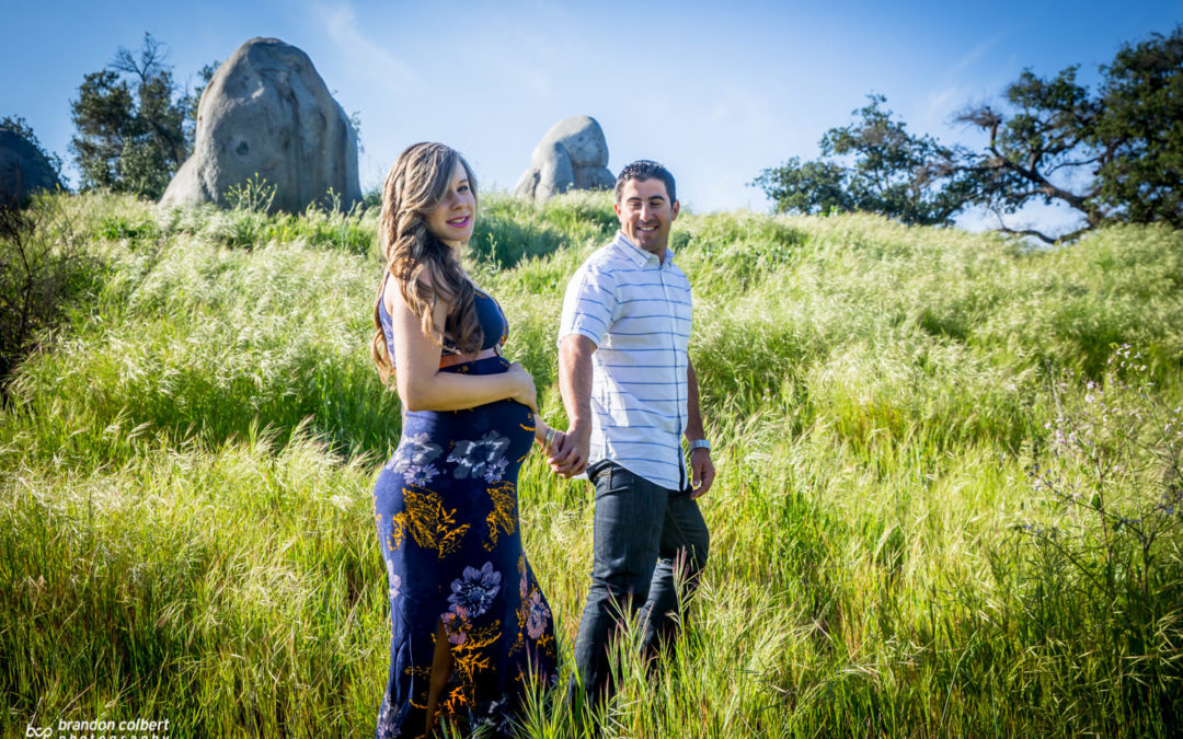 Bri and Curtis Maternity Session